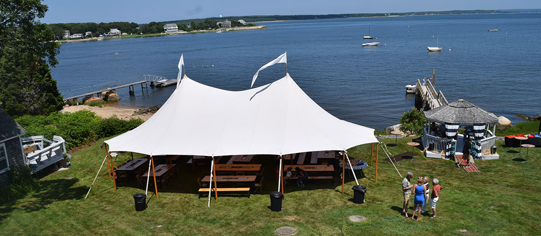 Outdoor and Backyard wedding event